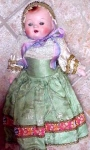 1940 French Composition Doll Nice/orig Owner