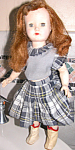Cute 50s 14in Effanbee Jointed Walker Doll Sleep Eyes