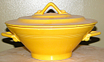 Homer Laughlin Harlequin 9in Yellow Covered Casserole