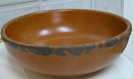 Antique Mccoy Brown Cereal Bowl