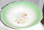 Lovely Antique Floral Fruit Bowl By Salem Usa