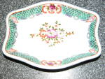 Vintage Occupational Japan Painted Pin Dish Tray
