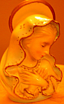 Lovely Mother Mary Virgin Madonna Japan Figure Tarco?