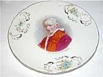 Antique Porcelain Religious Pope Leo Xiii Plate