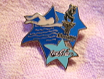 1996 Atlanta Olympic Coca Cola Swimming Event Pin