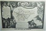 Dept De Tarn Et Garonne By V. Levasseur Map Print