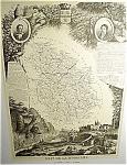 Dept De La Hte Marne By V. Levasseur Map Print