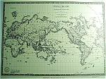 Map Of The World By A Brue (C1830) Map Print