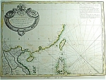 Indes Iii Feuille By M. Bonne Map Print