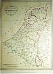 Kingdoms Of Belgium & Holland Th. Lejune (C1835)