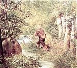 Cazador En El Bosque, Ramon Marti I Asina Art Print