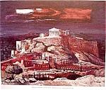 Acropolis By Cumellas Art Print