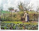 Kitchen Garden By Camille Art Print