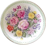 Danbury Mint, Flowers Of England Collectors Plate C1990