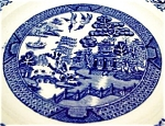 Ye Olde Blue Willow Plates (4 )