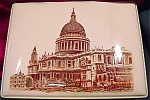St .paul's Cathedral London, Keepsake Or Cigarette Box