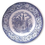 Historic Colonial Scenes Saucer