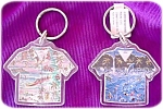 Hawaiin Shirt Key Rings