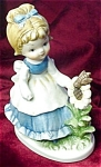 Little Girl Bisque Figurine