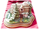 Franklin Mint Cozy Glen Cottage Ltd Edition # 858