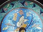 Stunning Colorful Art Glass Mosaic Pattern