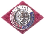 Us Navy Honorable Discharge Pin