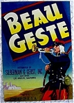 1930s Beau Geste Produce Crate Label