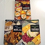 3 Culinary Institute 1949 Cookbooks Recipe Books