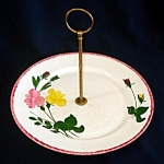 Blue Ridge Southern Potteries Bridesmaid Tidbit Serving Tray