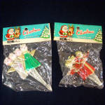 2 Sealed Packages Christmas Angel Package Ties