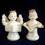 Singing Angels Vintage Japan Salt And Pepper Shakers