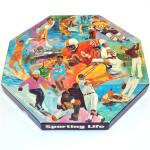 Sporting Life 1973 Springbok Octagonal Jigsaw Puzzle