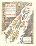 Vintage Ad Beech-nut Gum And Candies Street Parade