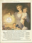 Vintage Ad Mother And Children For National Canners Association Wa D.c.