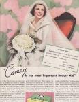 Vintage Ad Camay Soap Bride 1936