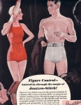 Vintage Ad Swimsuits Ladies And Men Jantzen 1935