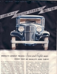 Vintage Ad Willy-overland Sixes And Eights 1932 Deco Era