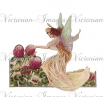 Victorian Fairy With Flowers Image Download