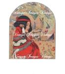 Vintage Deco Indian Maiden Graphic Download