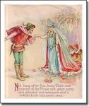 Vintage Print Snow White And Prince By Frances Brundage