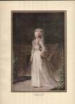 Vintage 1900's Print Of Louise Agusta Of Denmark