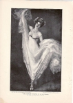 Early Print The Dancer 1899