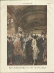 Vintage Print Before The Curtain Rises From A Water Colr By Henry Raleigh
