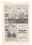 Bensdorp's Cocoa & Rumford Baking Powder Add
