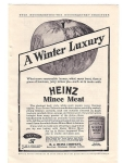 Heinz Mince Meat Good Housekeeping Add 1904