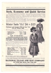 Vintage Ad For National Cloak And Suit Co. New York City 1900s