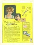 Vintage Ad Deco West Electric Hair Curlers 1923