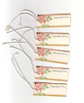 Five Vintage Gift Tags 1930s Especially For You
