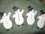 Vintage Christmas Snowman With Micha Chennele On Hats