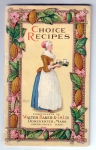 Vintage Cookbook Chocolate And Cocoa Recipes